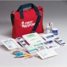 120 Piece First Responder First Aid Kit