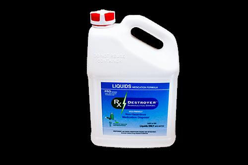 New RX Destroyer 64OZ Bottle TM Liquids Drug Disposal