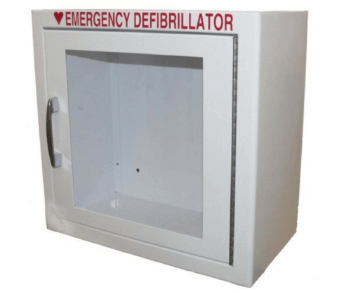 Surface-Mounted AED Wall Cabinet w/No Alarm