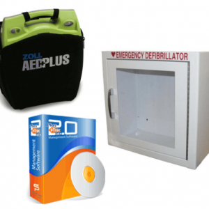 Zoll AED Plus with Plus Trac Maintenance Program Combo Package