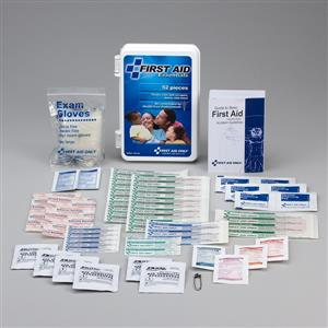 52 Piece All-Purpose First Aid Kit, Plastic