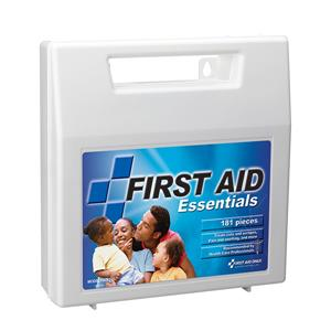 181 Piece All-Purpose First Aid Kit, Plastic