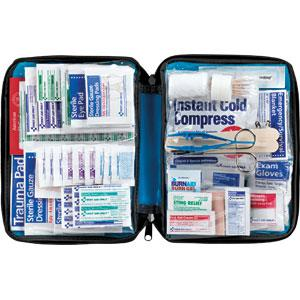299 Piece All Purpose First Aid Kit, Softpack