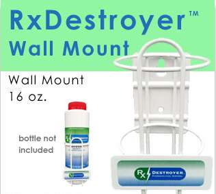 RX Destroyer 16OZ Wall Mount