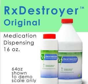 RX Destroyer 16OZ/RX Destroyer Drug Disposal 12-16OZ