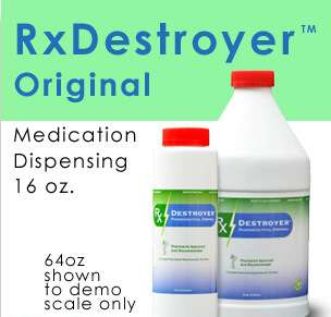 RX Destroyer 16OZ/RX Destroyer Drug Disposal 12-16OZ