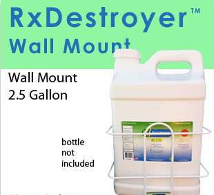 RX Destroyer 2.5 GAL Wall Mount