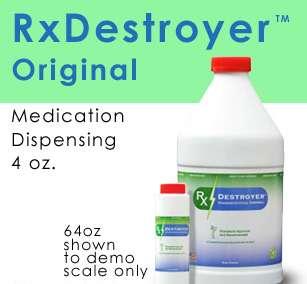 RX Destroyer TM Drug Disposal 4OZ