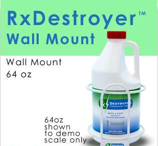 New RX Destroyer 64OZ Wall Mount