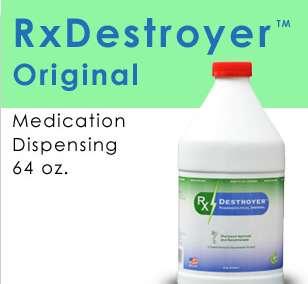 RX Destroyer Drug Disposal 4-64OZ