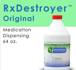 RX Destroyer Drug Disposal 4-64OZ