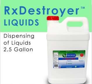 New RX Destroyer 2.5 GAL Liquids TM