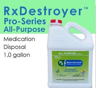 RX Destroyer Pro Series All-Purpose-1 Gallon Bottles-4/Case
