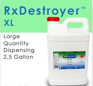 RX Destroyer Drug Disposal (2) 2.5 GAL