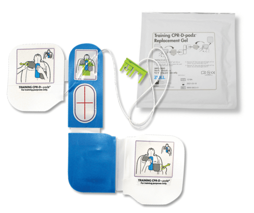 ZOLL AED Plus Trainer2 Replacement Training Pads - Square