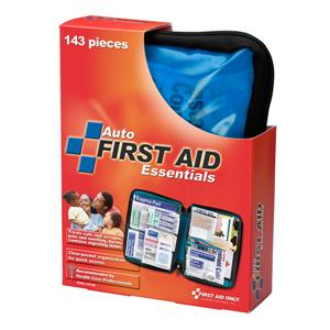 143 Piece Auto First Aid Kit, Softpack