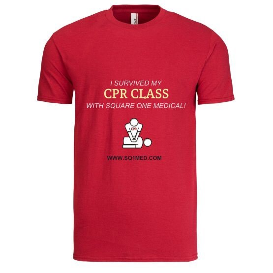I survived my cpr class_mens shirt_independence red