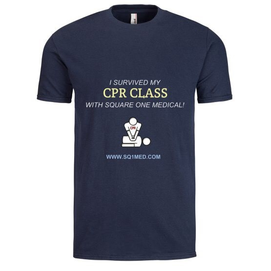 I survived my cpr class_mens shirt_navy