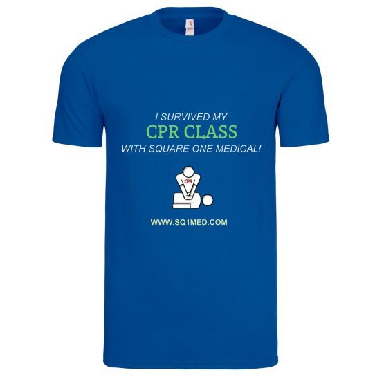 I survived my cpr class_mens shirt_royal blue