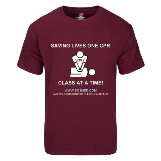 saving lives one cpr class at a time_mens_maroon