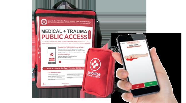 public access rescue station