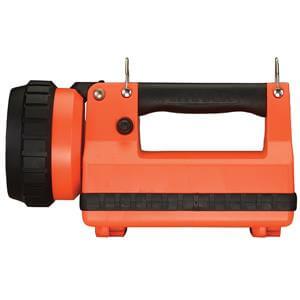 Orange Streamlight LightBox Flashlight with Vehicle Mount