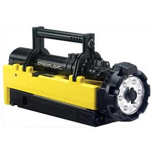 Black & Yellow Streamlight Portable Scene Light Rechargeable Lantern