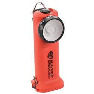 Streamlight® Survivor® LED Class 1 Division 1 Flashlight (Alkaline Model) Non-Rechargeable Orange