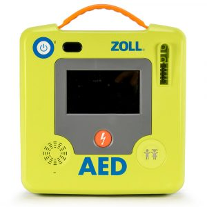 Front of ZOLL AED