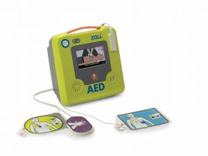 ZOLL AED 3 with pads